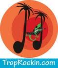 Logo Design tropical music theme blog için Graphic Design73 No.lu Yarışma Girdisi