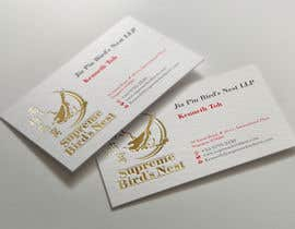 #108 for Design some Business Cards for Bird's Nest by midget