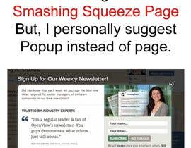 #10 for Design and Install a Squeeze Page / Landing Page (WordPress) by writersquality