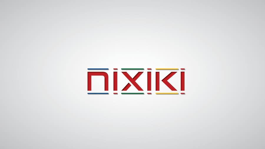 Penyertaan Peraduan #                                        74                                      untuk                                         Design a Logo for www.nixiki.com