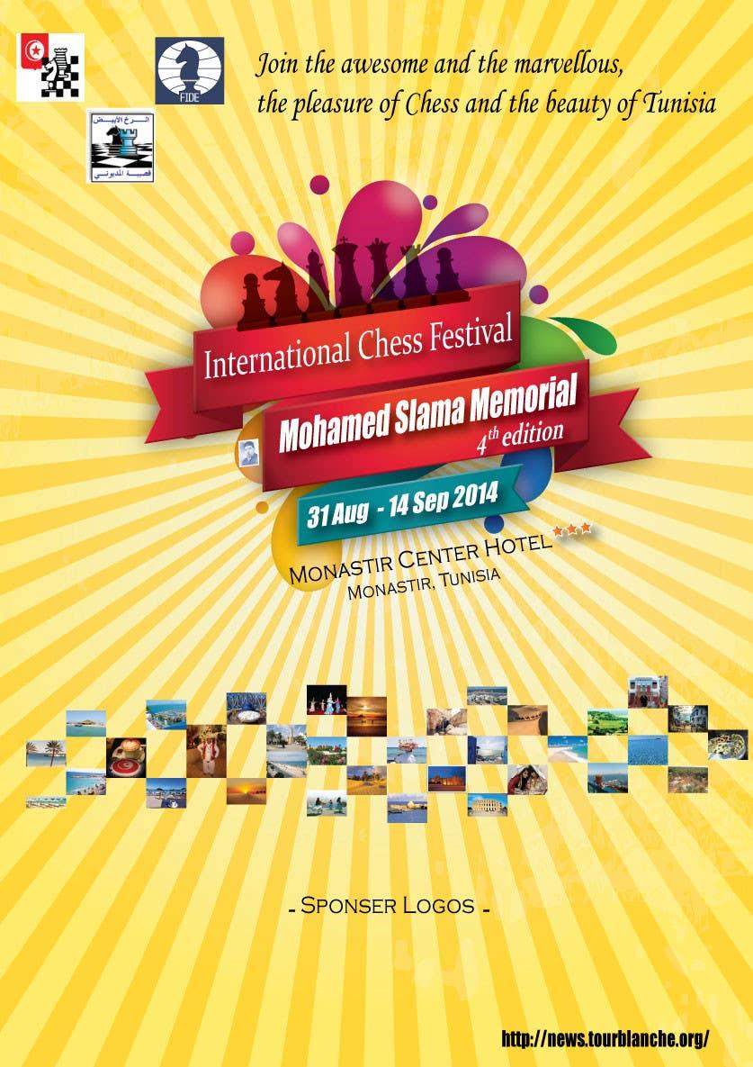 #2 for Design a Poster for Chess Festival by christyrajvel