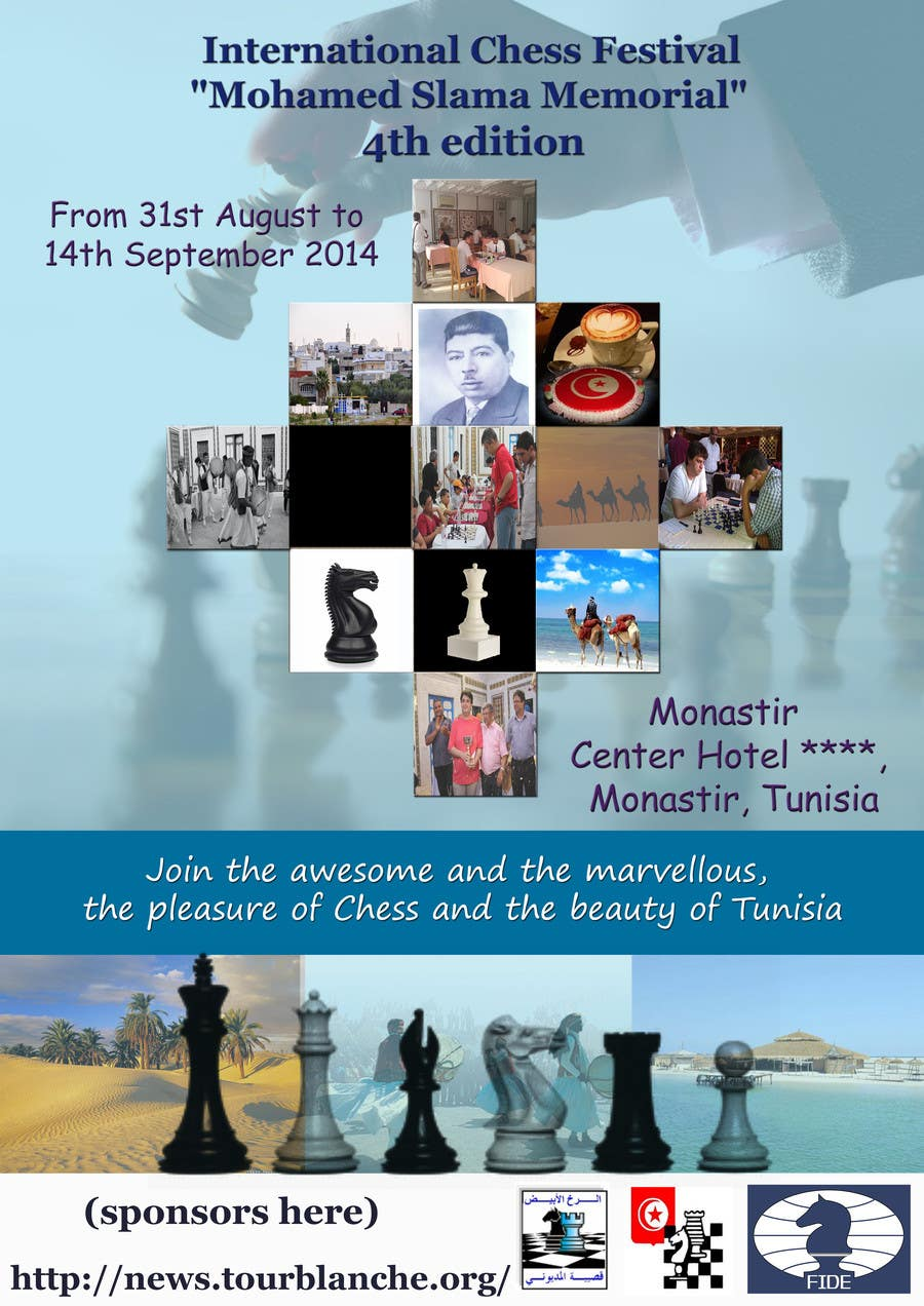 #13 for Design a Poster for Chess Festival by emahalacheva