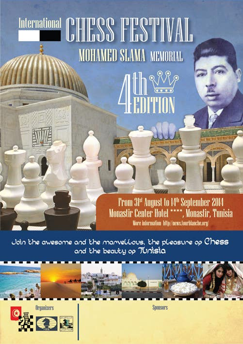 #36 for Design a Poster for Chess Festival by juliettemedina