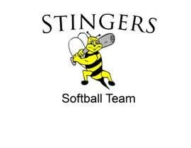 #2 para Design a Logo for Stingers Softball Team por flashmakeit