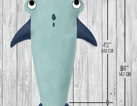 "WajahatMehdi tarafından Design for the physical product called ""shark tail blanket for kids"" için no 9"