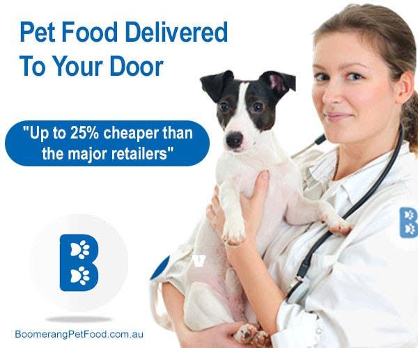 Penyertaan Peraduan #4 untuk Design a Static MREC Banner for Pet Food  Business