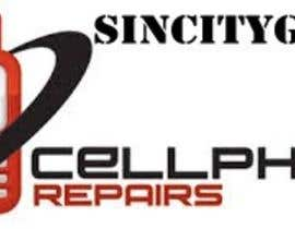 #10 untuk Design a Logo for a Cell Phone Repair Company in Las Vegas - Sin City oleh zonicburn
