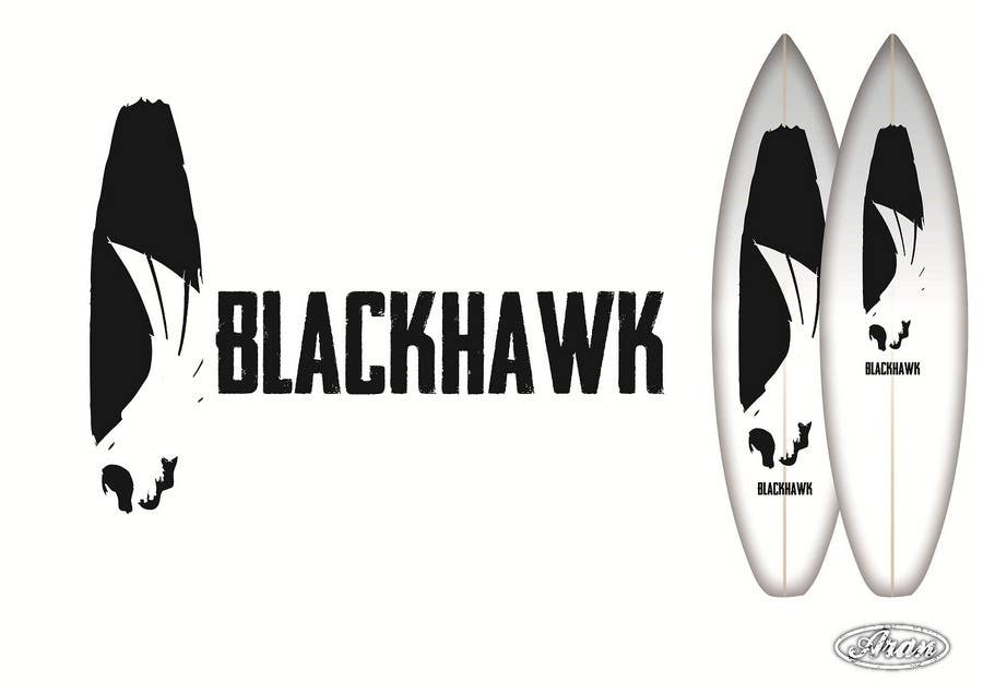 Penyertaan Peraduan #                                        360                                      untuk                                         Logo Design for Blackhawk International Pty Ltd