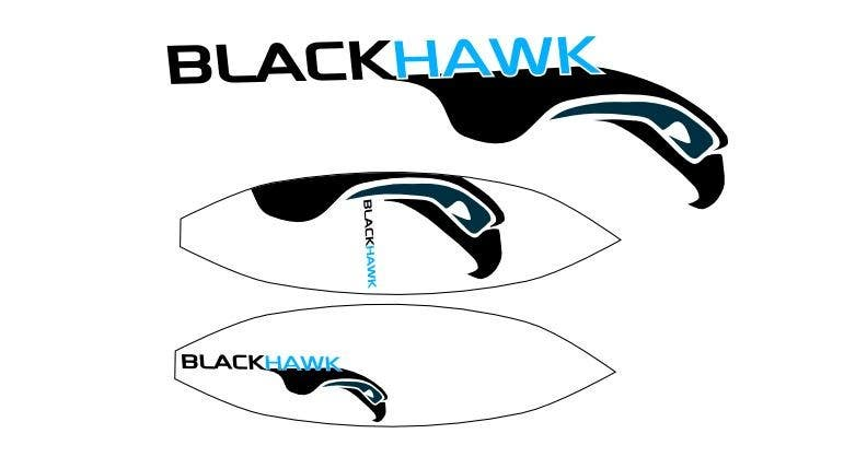 Penyertaan Peraduan #                                        414                                      untuk                                         Logo Design for Blackhawk International Pty Ltd