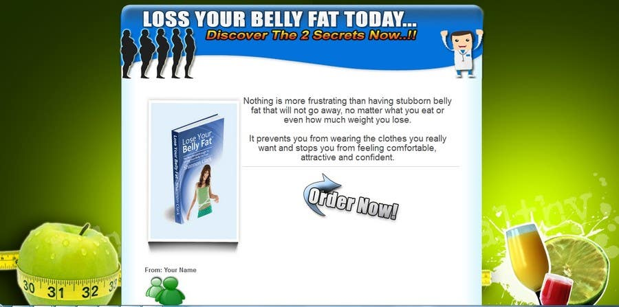 #1 for Build a Website for selling an e-book: Weight Loss for men over 40 by eguyz