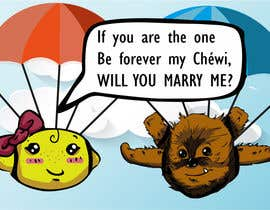 KaeruKagami tarafından Design a Banner for my Skydiving marriage proposal için no 8