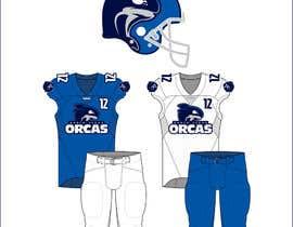 brandmoor tarafından North Texas Orcas Football Team Uniform Contest için no 9