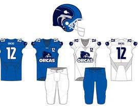 brandmoor tarafından North Texas Orcas Football Team Uniform Contest için no 10