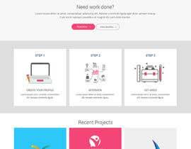 syrwebdevelopmen tarafından Momlancer Logo and Landing Page for a freelancer platform directed to mothers için no 179