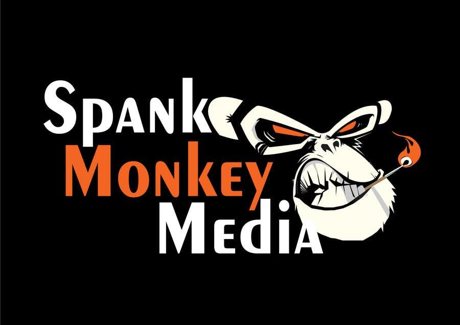 Inscrição nº 447 do Concurso para Logo Design for Spank Monkey Media