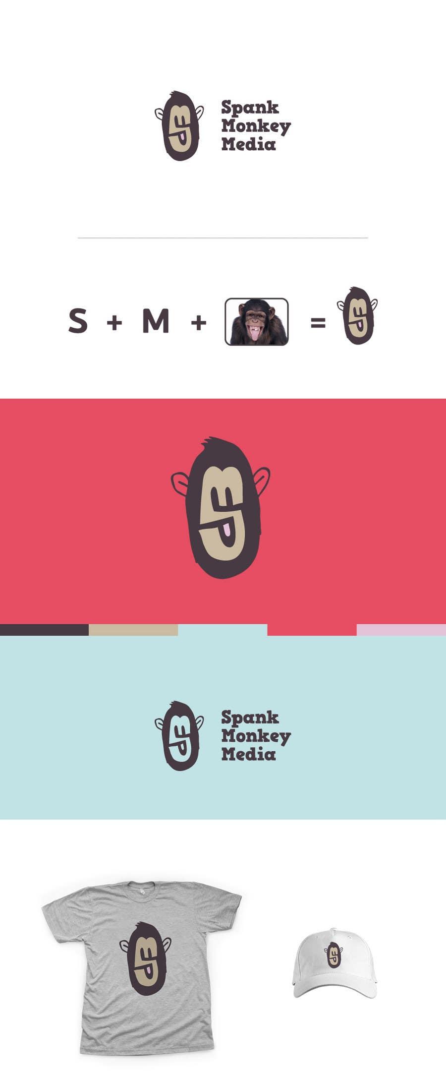 Contest Entry #521 for Logo Design for Spank Monkey Media