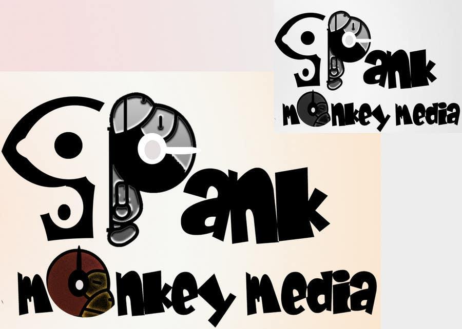 Kilpailutyö #473 kilpailussa Logo Design for Spank Monkey Media