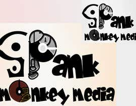 #473 para Logo Design for Spank Monkey Media por sajidd22