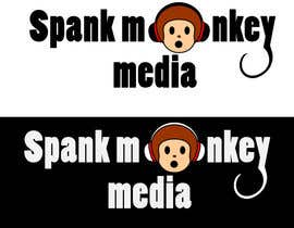 #475 para Logo Design for Spank Monkey Media por stephen66
