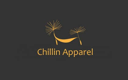 "#12 para Design a Logo for ""Chillin Apparel"" t-shirt company. por cristinandrei"