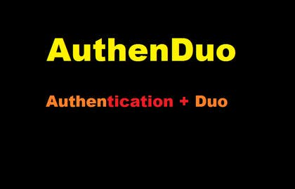 shakthik92 tarafından Come up with the name of my new Two Factor Authentication application için no 40