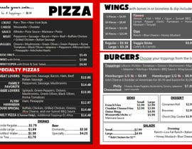 nº 4 pour I need some Graphic Design for Pizza Shop par Chelleystewart96