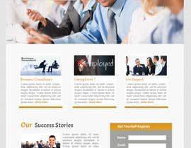 nº 6 pour Design for a simple one page responsive layout for a investment business par nakib14