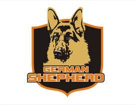 #65 for German Shepherd Logo by YONWORKS