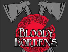 nº 19 pour Update logo for Bloody Bordens (just redraw it) par ceebee21