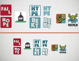 renanbonin tarafından Design some Emotes for twitch.tv/klindalol için no 3