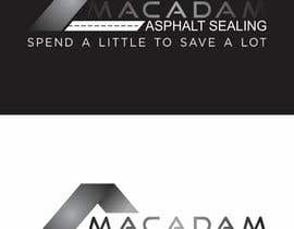 #97 for Design a Logo for Macadam Asphalt Sealing by barinix