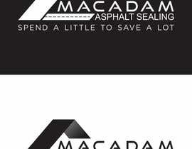 #98 for Design a Logo for Macadam Asphalt Sealing by barinix