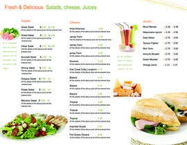 nº 33 pour Menu Design for Deli par clementalwin