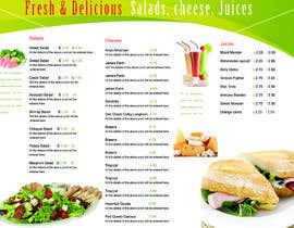 nº 34 pour Menu Design for Deli par clementalwin