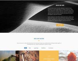 #5 for Redesign  bootstrap page by kalamal