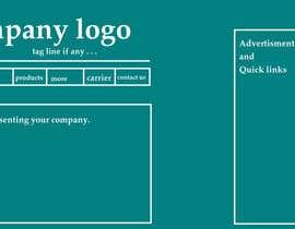 Nro 17 kilpailuun Design a Website Home page for luxuries resturant käyttäjältä burhan102