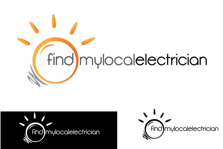 Participación en el concurso Nro.                                        160                                      para                                         Logo Design for findmylocalelectrician