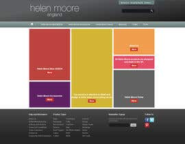 #27 untuk Homepage mock up for ecommerce site oleh Skyworks24
