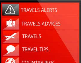 #10 para Design main and detail pages for travel security app on Blackberry por MagicalDesigner