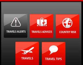 #11 para Design main and detail pages for travel security app on Blackberry por MagicalDesigner