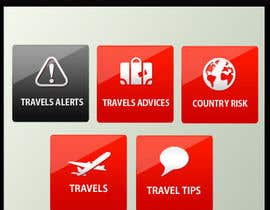 #12 para Design main and detail pages for travel security app on Blackberry por MagicalDesigner