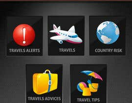 #13 para Design main and detail pages for travel security app on Blackberry por MagicalDesigner