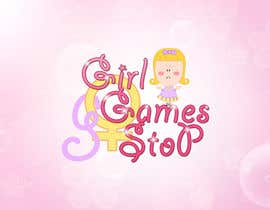 #15 untuk Logo and background. Girls Games. oleh ryu23