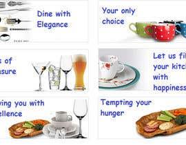 Nro 17 kilpailuun Write a tag line/slogan for Kitchen Ads käyttäjältä ExcelLogix
