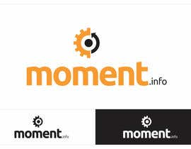 #47 untuk Design a Logo for my website moment.info oleh descomgroup