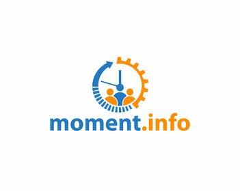 #101 para Design a Logo for my website moment.info por tedi1