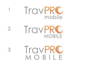 #349 for Design a Logo for a Travel Agent (B2B) Mobile Platform (TravPro Mobile) by rraja14