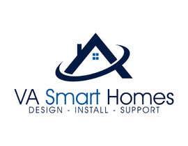 #23 untuk Design a Logo for Virginia Smart Homes oleh ibed05