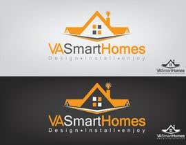 #58 untuk Design a Logo for Virginia Smart Homes oleh sherryshah91