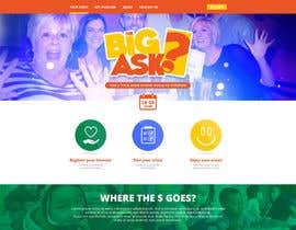 #125 untuk Design a Website Mockup for a campaign oleh DanielFeze